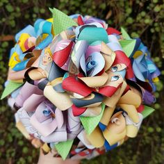 Check out this item in my Etsy shop https://www.etsy.com/au/listing/385395106/the-little-mermaid-book-bouquet-decor