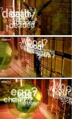 Death? Skull? Deaded? Wood? Pipe/tube/wotsit? Gamebob? Egg? Chair? Sitty thing? lol Sherlock :)