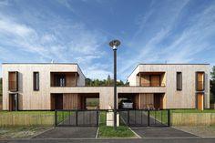 Habitat individuel groupé - 20 habitations individuelles groupées BBC - Brioude - Haute Loire - Atelier Teyssou