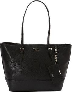 Nine West Handbags Ava Tote Black Nappa - via eBags.com!