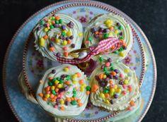 Heavenly Rainbow Cupcakes | Food Inspiration ♥