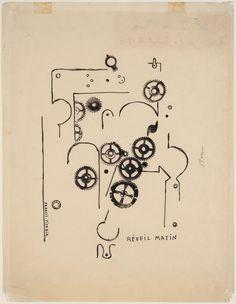 Francis Picabia, 'Alarm Clock' 1919