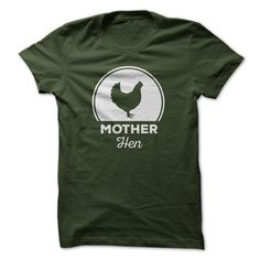Mother Hen Shirt - Shes always there, looking out for everyone. Get this FREE T-shirt for the mother hen in your flock! 100% Cotton (Farmer Tshirts)