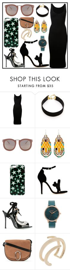 """SPRING FASHION"" by justinallison on Polyvore featuring Dion Lee, Vanessa Mooney, Karen Walker, Ziio, Marc Jacobs, Isa Tapia, Giannico, Nixon, 3.1 Phillip Lim and Jennifer Fisher"