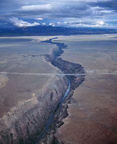 taos architecture | Rio Grande Gorge Bridge, Taos, New Mexico - Chris Dahl-Bredine