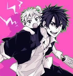 Tags: Anime, Pixiv Id 1568334, Beelzebub, Baby Beel, Oga Tatsumi, Baby
