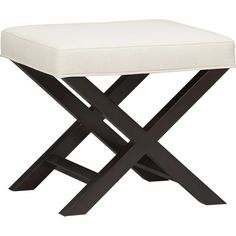 X-Base Bench-Vanity Stool in Bedroom Benches | Crate and Barrel