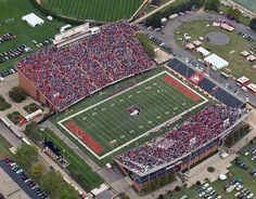 Northern Illinois Football Stadiums, College Football, Northern Illinois University, Stadium Tour, Sports Figures, U.s. States, Lake Michigan, Baseball Field, Around The Worlds