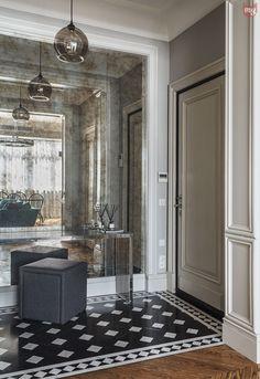 Фотография:  в стиле , Эклектика, Квартира, Проект недели, Москва, декоративный…