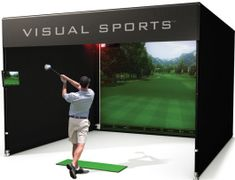 VS-14 Multi Sports Simulator System | From Visual Sports |   Get more information about this game at: http://www.bmigaming.com/games-catalog-visual-sports-systems.htm