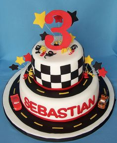 Cars Cake by cakespace - Beth (Chantilly Cake Designs)