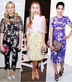 25 inspiring floral outfits to see to shop for spring. // #fashion #style