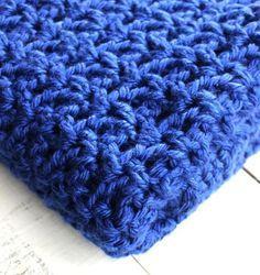 Crochet V-Stitch Lapghan