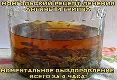 Всё самое интересное!: Монгольский рецепт лечения ангины.