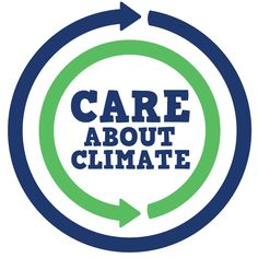 The new Care About Climate symbol, alternative version, to show you care about climate! http://www.careaboutclimate.com/