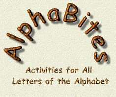 AlphaBites Main Page, a LONG list of activities for preschool letter lessons, incudes snacks, crafts, songs and math and science activities.