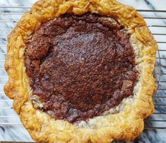 Minny's Chocolate Pie - Project Pastry Love