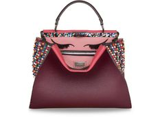 Fendi's Iconic Pickaboo Bag Customized By Celebrities #fendi #pickaboo