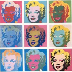Andy Warhol - The Marilyns