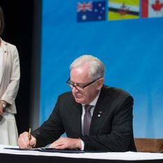 TPP nations sign off on pact as community groups call for review #Business_ #iNewsPhoto