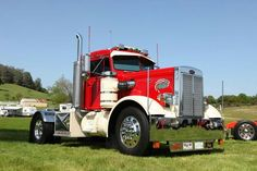 Peterbilt 1966. Mod.281 Show Trucks, Big Trucks, Peterbilt Trucks, Fire Engine, Classic Trucks, Rigs, Tractors, Edd, Voodoo