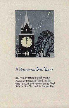 new year --- une nouvelle année prospère, la lune hivernale est sur le déclin, et un parfum épicé remplit la nuit, bonne chance et bonne humeur à vous mes amies, une nouvelle année  .... de sa lumière naissante