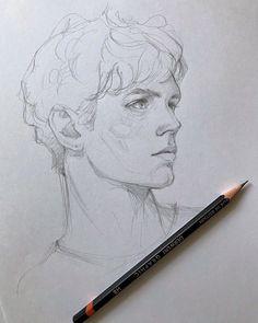 Dark Art Drawings, Pencil Art Drawings, Art Drawings Sketches, Realistic Drawings, Cute Drawings, Arte Sketchbook, Art Reference Poses, Portrait Art, Portraits