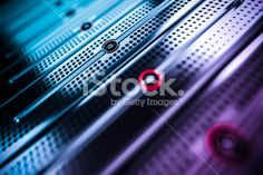 network servers Royalty Free Stock Photo