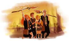 (Fan art) Merida, Rapunzel, Jack et Hiccup - The Big Four - Page 3