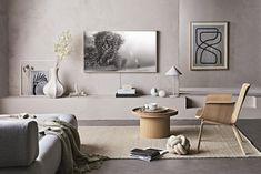 Living Room Tv, Interior Design Living Room, Home And Living, Living Room Designs, Living Spaces, Living Room Lighting Design, Tv Wall Design, Framed Tv, Scandinavian Interior