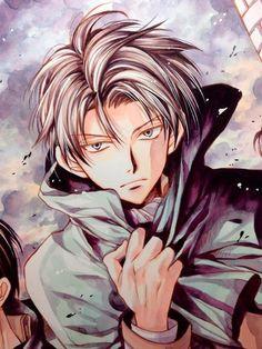 Mangaka Arina Tanemura vẽ hình nhân vật Levi trong Attack on Titan | VnNeko News