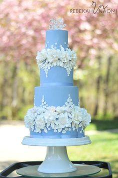 A Cinderella Wedding on Cake Central