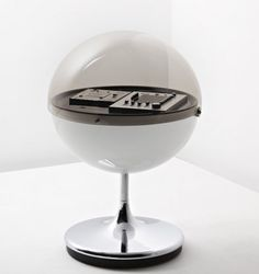 ROSITA TONMOBEL Vision 2000 Stereo System, 1971 Space Age Design by Thilo Oerke.