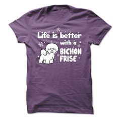 bichon_B, Order HERE ==> https://www.sunfrog.com/Pets/bichon_B-6020-Purple-Guys.html?6432, Please tag & share with your friends who would love it, #superbowl #renegadelife #birthdaygifts