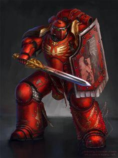 Blood Angel - Legion breacher squad by Inkary on DeviantArt