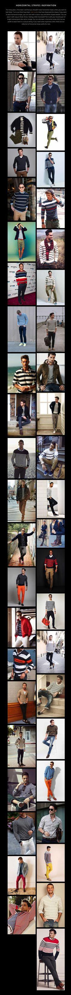 Horizontal Stripes Inspiration for Men