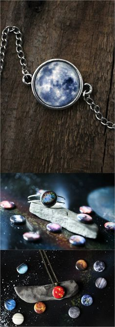 Wear the galaxy with this beautiful space-inspired jewelry made by Lauren | Made by people who care on Hatch.co