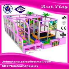 2016 Factory price kids indoor playground equipment, comfortable children indoor playground For Sale