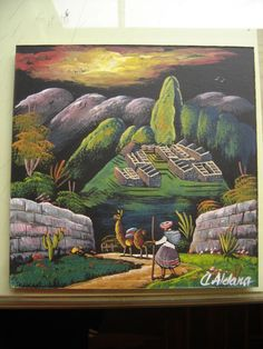 Ampliar Lowrider Tattoo, Peruvian Art, Machu Picchu, Malaga, Culture, Painting & Drawing, Fashion Art, Folk Art, Decoupage