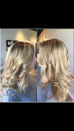 Kelly lightened her clients #hair through #balayage using #infinieplatine and toned with #lorealprofessional #dialight. #rpsthesalon