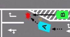 ゼブラゾーンを通行不可と誤認識している危険性…勘違いしている人が続出… – kwskライフ