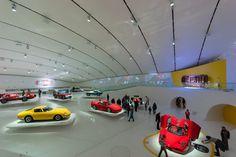 The great #Ferrari #museum in Modena reviewed on #inexhiibit magazine! http://www.inexhibit.com/case-studies/museo-enzo-ferrari-modena/