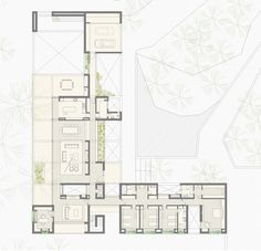Image 53 of 55 from gallery of GS House / MWS arquitectura. First Floor Plan