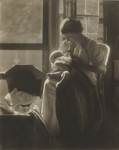 1905. One of my all time favorte breastfeeding photographs.
