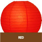 Round Paper Lanters (3 sizes, 10 colors) #red #Chinese #NewYear