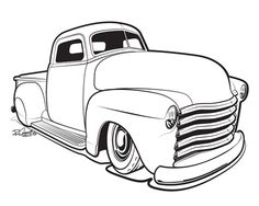 618 best chevy truck images in 2019 chevy trucks pickup trucks 307 68 Chevelle 3 Speed automotive illustration sin customs hot rod car art 1952 chevy truck chevy trucks