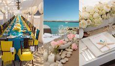 Adornos para una boda en la playa
