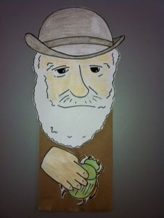 Today is Charles Darwin's 204th birthday! Celebrate with Darwin puppet crafts in our Naturalist Center on Level 3. [Today 11am-4pm and Sunday 10am-4pm.]