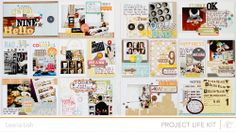 Studio Calico #scrapbook #projectlife