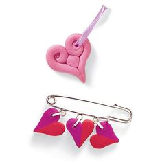 Valentine Jewelry: Love Bead Pins - Fun for Little Girls to Make